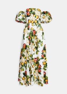 Borgo de Nor Juliet Off Shoulder Puff Sleeve Dress