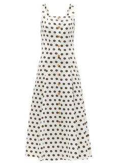 Borgo De Nor Tilda floral-print cotton maxi dress