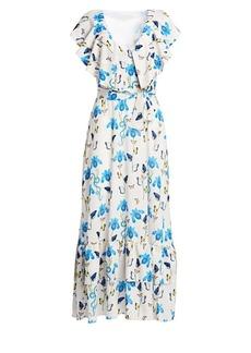 Borgo de Nor Carlotta Tie-Waist Maxi Dress