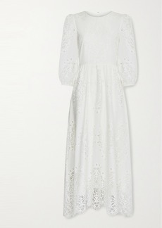 Borgo de Nor Constance Broderie Anglaise Maxi Dress