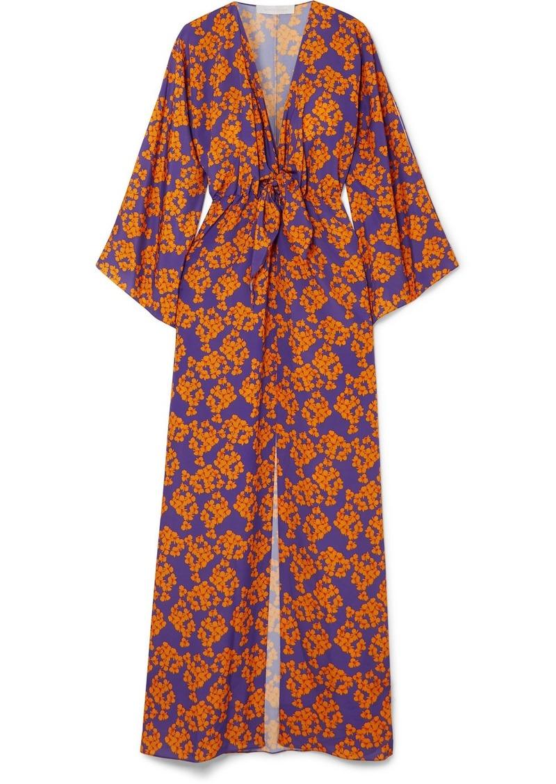 1ae8365270d5d Borgo de Nor Elsa floral-print crepe maxi dress