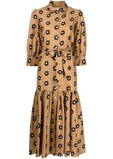 Borgo de Nor Estelle floral-print dress