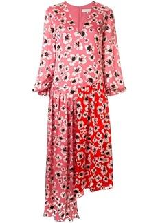 Borgo de Nor floral asymmetric dress