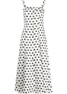 Borgo de Nor floral-print square-neck dress