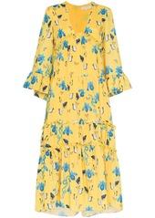 Borgo de Nor iris floral print dress
