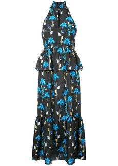 Borgo de Nor Jasmine floral long dress