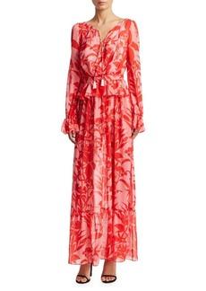 Borgo de Nor Lily Silk Georgette Dress