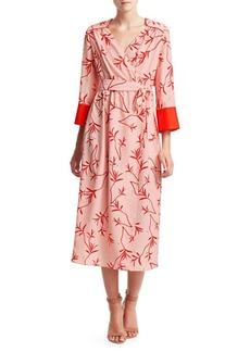 Borgo de Nor Lorena Kimono Wrap Dress