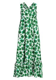 Borgo de Nor Mila Cotton Poplin Midi Dress