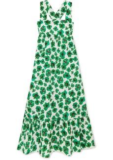 Borgo de Nor Mila Floral-print Cotton Maxi Dress