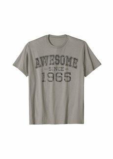 Awesome since 1965 Vintage Style Born in 1965 Birthday Gift T-Shirt
