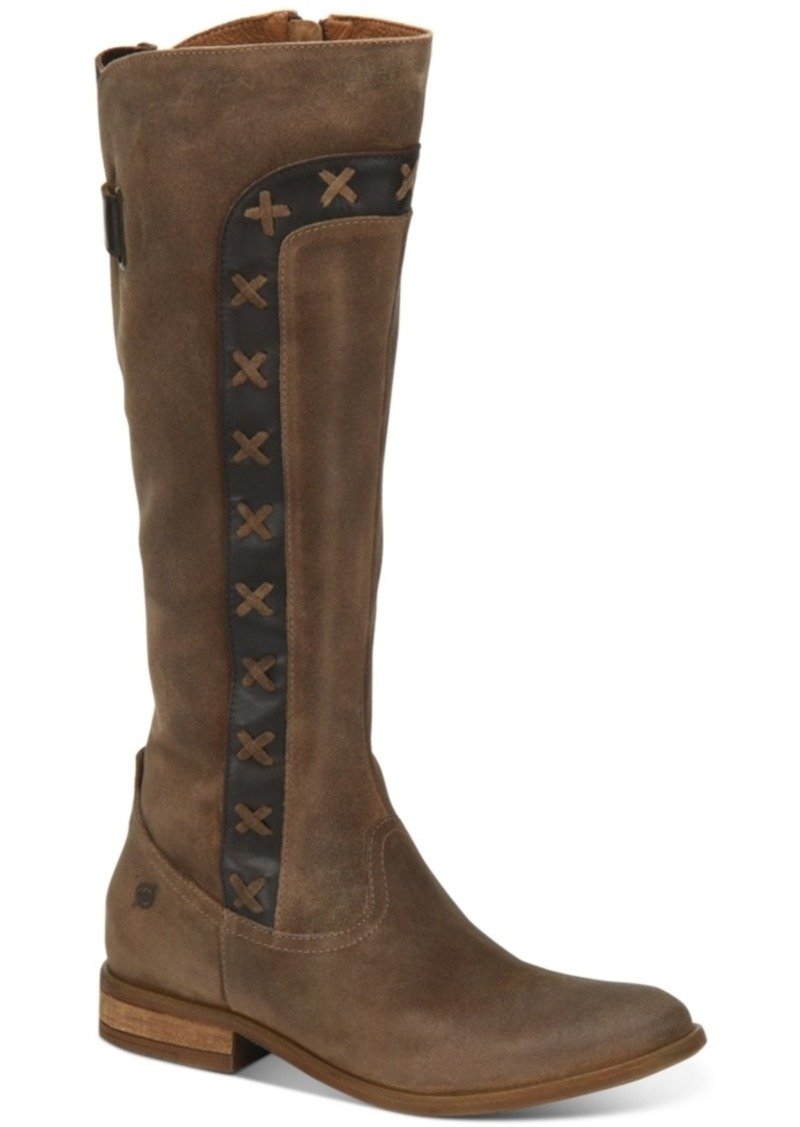 Born Albi Tall Boots Women's Shoes