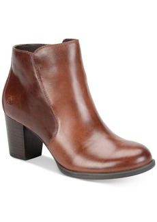 Born Alter Zippered Booties Women's Shoes