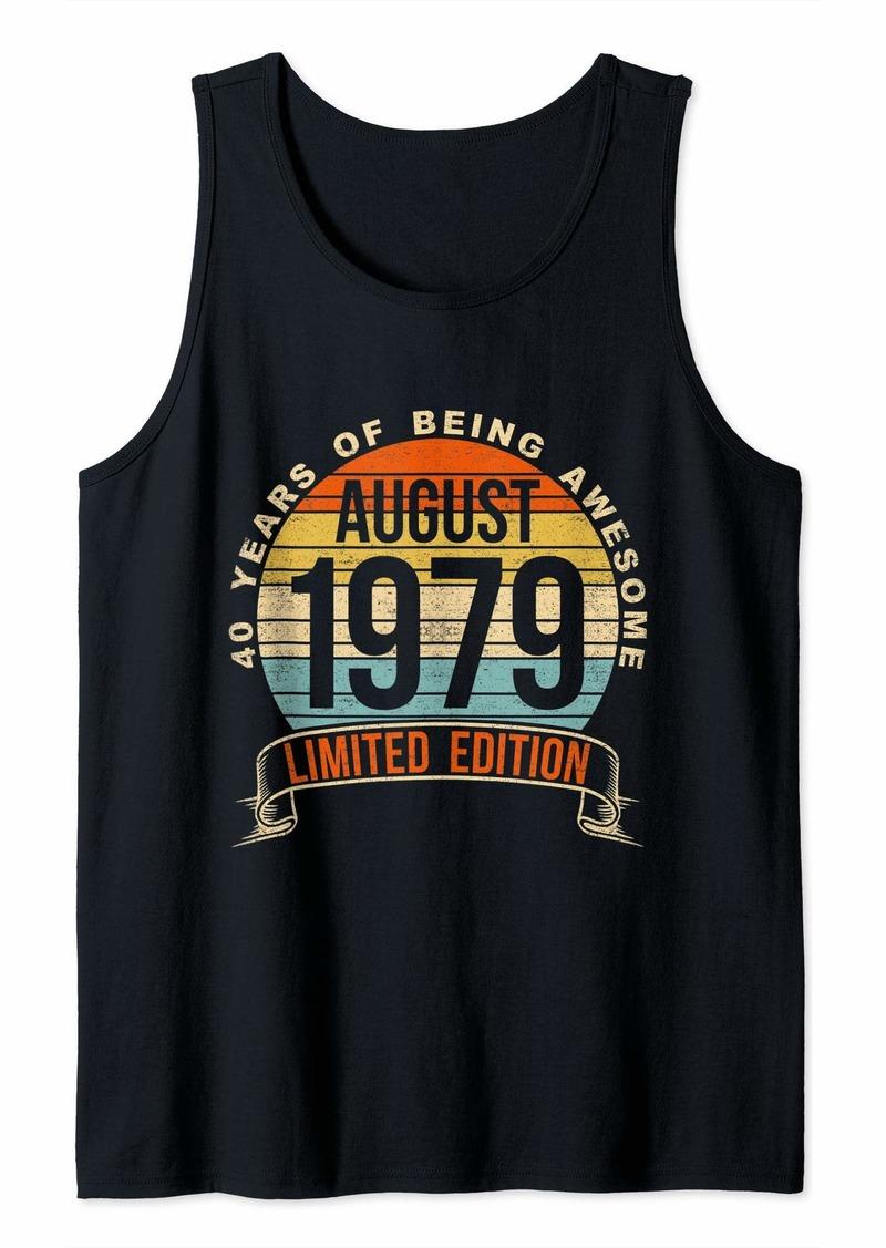 born august 1979 40th birthday Tank Top