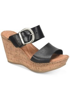 Born Emmy Wedge Sandals Women's Shoes