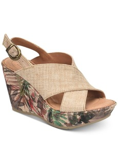 Born Emmy2 Wedge Sandals Women's Shoes