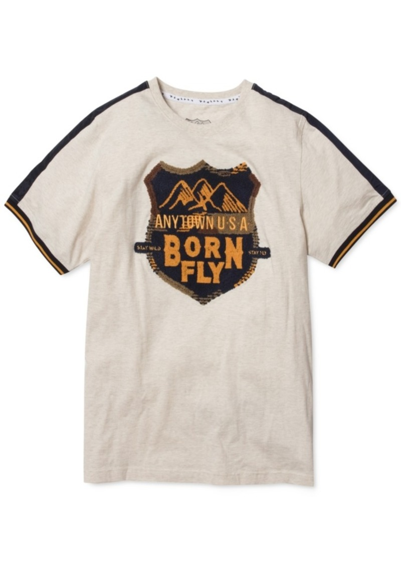 Born Fly Men's Graphic T-Shirt