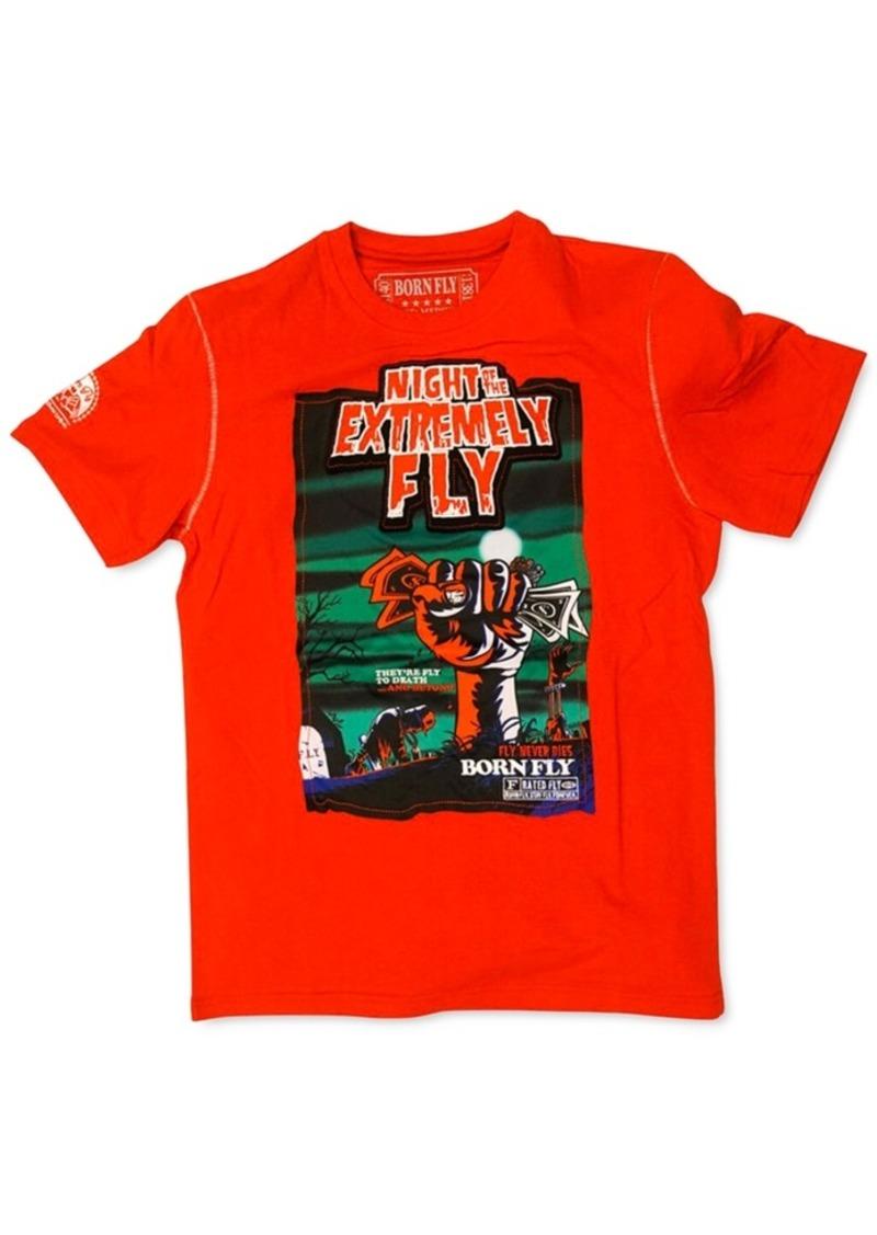 Born Fly Men's Heiter Applique Graphic T-Shirt