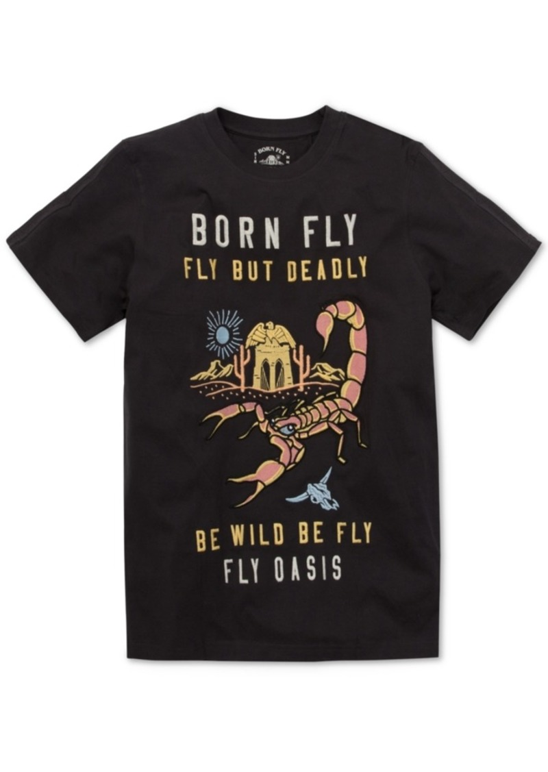 Born Fly Men's Kalahari Graphic T-Shirt