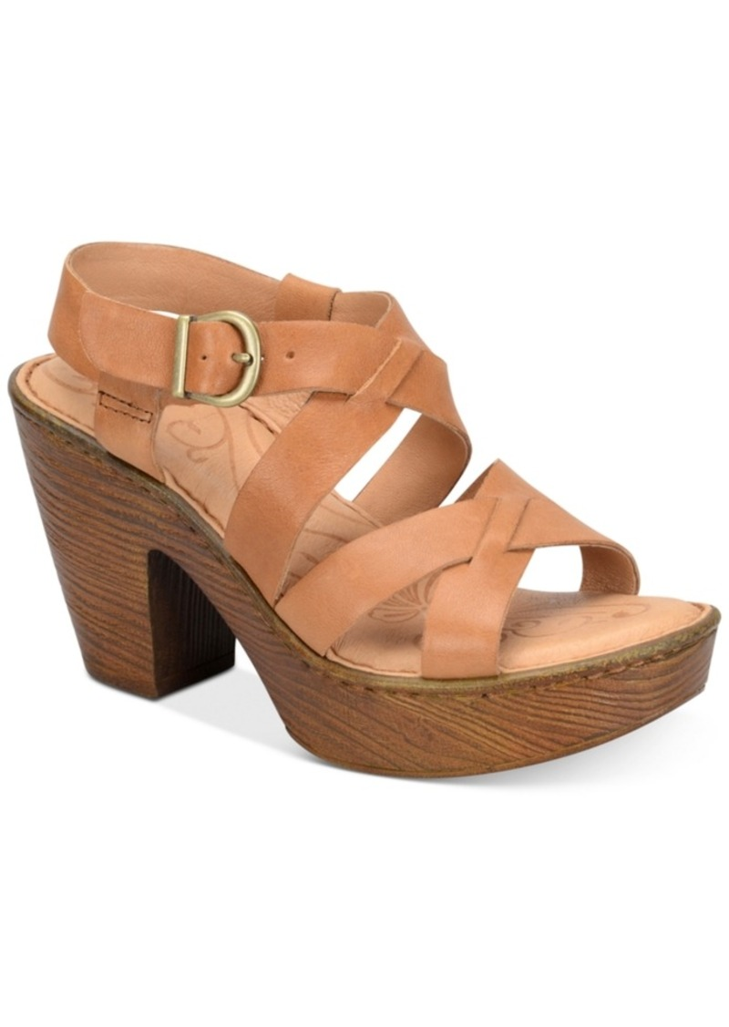db6ace21c70e Born Born Greccia Wedge Sandals Women s Shoes