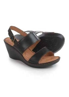 Born Iana Wedge Sandals - Leather (For Women)