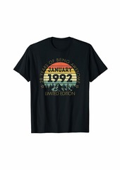 Born In January 1992 Limited Edition - 28th Birthday Gift T-Shirt