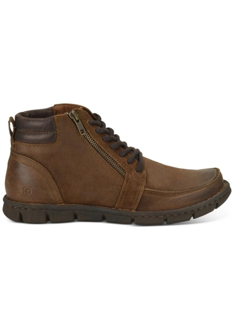 Born Men's Berkel Side-Zip Boots Men's Shoes