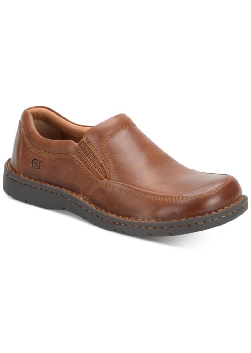 Born Men's Luis Moc-Toe Slip-On Loafers Men's Shoes
