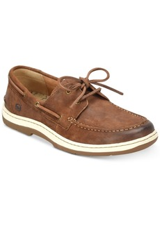 Born Men's Ocean 2-Eye Distressed Boat Shoes Men's Shoes