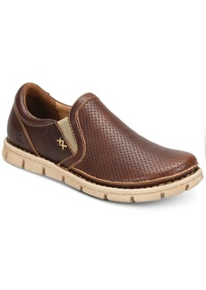Born Men's Sawyer Perforated Double Gore Slip-On Loafers Men's Shoes