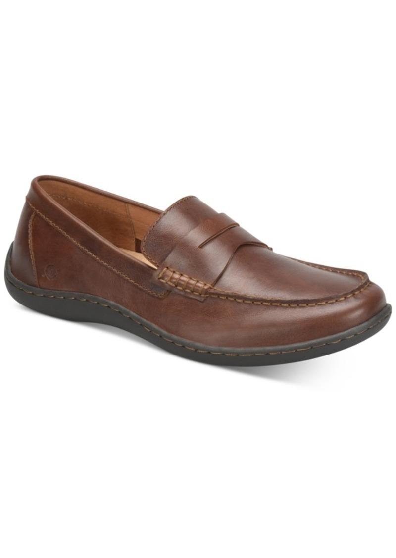 Born Men's Simon Moc-Toe Slip-on Loafers Men's Shoes