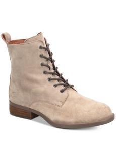 Born Remy Lace-up Combat Booties Women's Shoes
