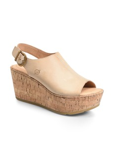Born Børn Orbit Platform Wedge Sandal (Women)