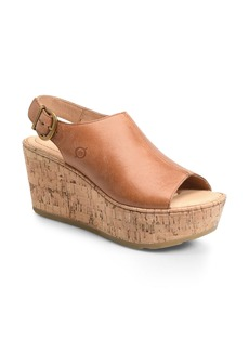 Born Børn Orbit Platform Wedge Sandal (Women)