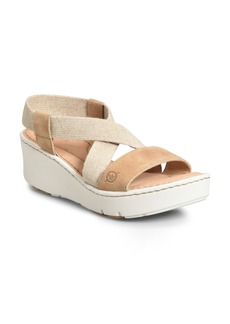 Born Børn Park Cross Strap Sandal (Women)