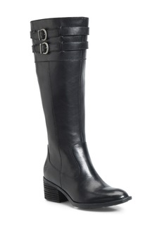 Born Børn Tay Block Heel Knee High Boot (Women)