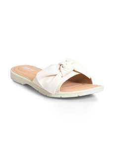 Born Børn Teton Knotted Slide Sandal (Women)