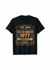 Born December 1977 Man Myth Legend 42nd Birthday Gifts 42 Yrs Old T-Shirt