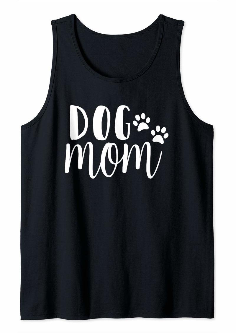 Born Dog Mom - Best Dog Lovers T-shirt - Aunt dog mom shirt Tank Top