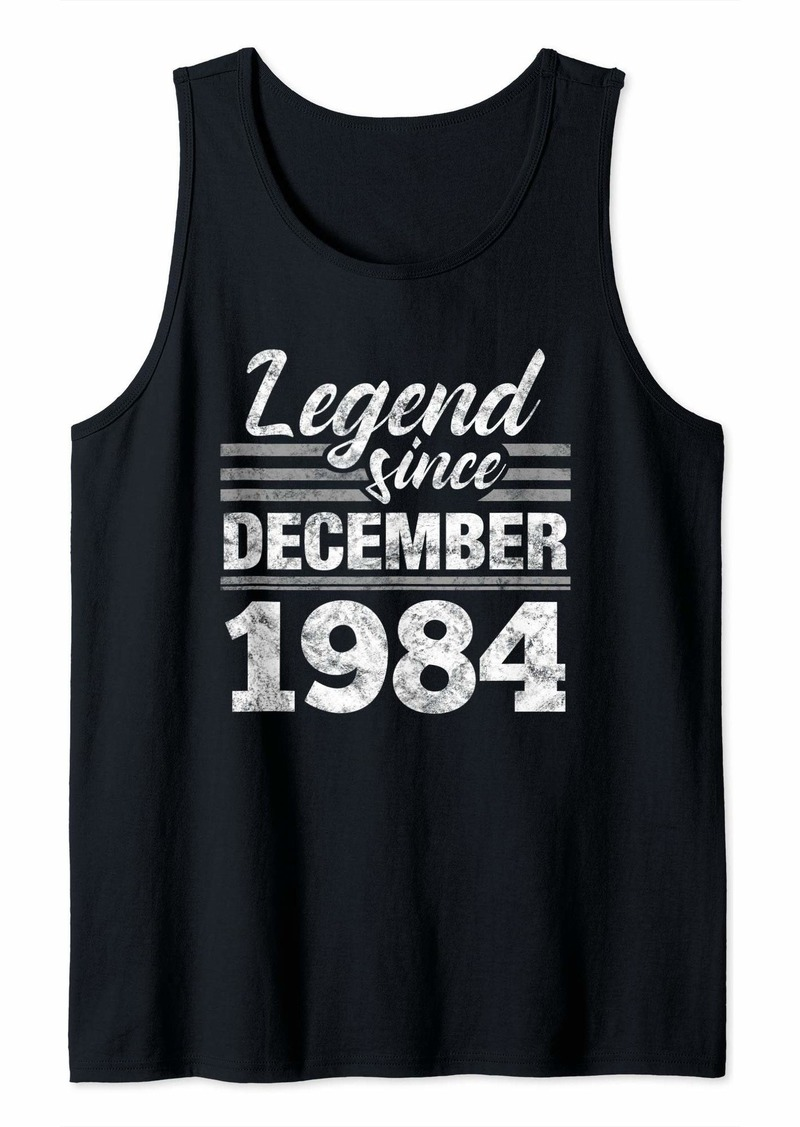 Born Legend Since December 1984 - 35 Year Old Gift 35th Birthday Tank Top