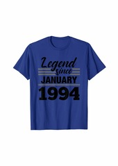 Born Legend Since January 1994 - 26 Year Old Gift 26th Birthday T-Shirt