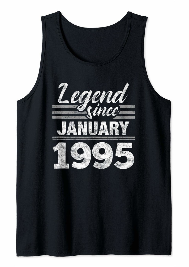 Born Legend Since January 1995 - 25 Year Old Gift 25th Birthday Tank Top