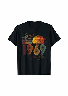 Born Legend Since September 1969 - Best Bday Gifts 50th Birthday T-Shirt