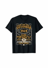 Legends Were Born In November 1924 95Th Birthday Gifts T-Sh T-Shirt