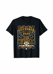 Legends Were Born In November 1929 90Th Birthday Gifts T-Sh T-Shirt