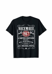 Legends Were Born In November 1967 T-Shirt 52nd Bday Gift T-Shirt