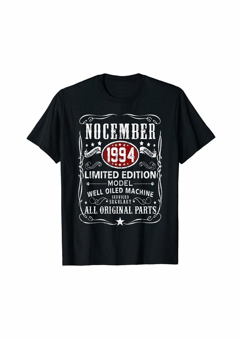 Legends Were Born In November 1994 T-Shirt 25th Bday Gift T-Shirt