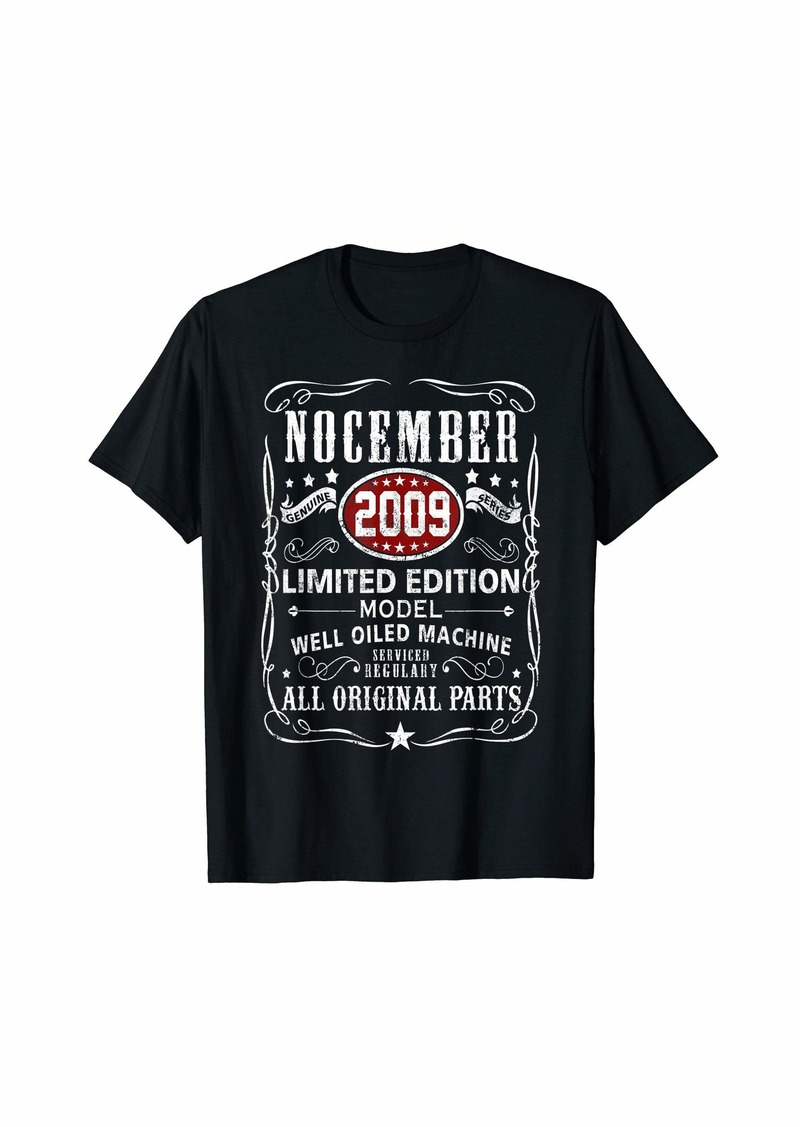 Legends Were Born In November 2009 T-Shirt 10th Bday Gift T-Shirt