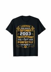 Legends Were Born In September 2003 TShirt 16th Birthday T-Shirt