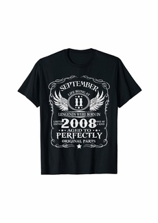Legends Were Born In September 2008 11th Birthday Gifts T-Shirt
